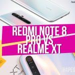 redmi note 8 pro vs realme XT